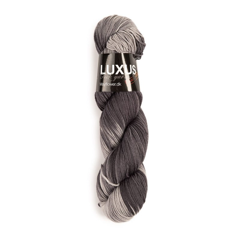 Luxus Sock Yarn Grafit (15)