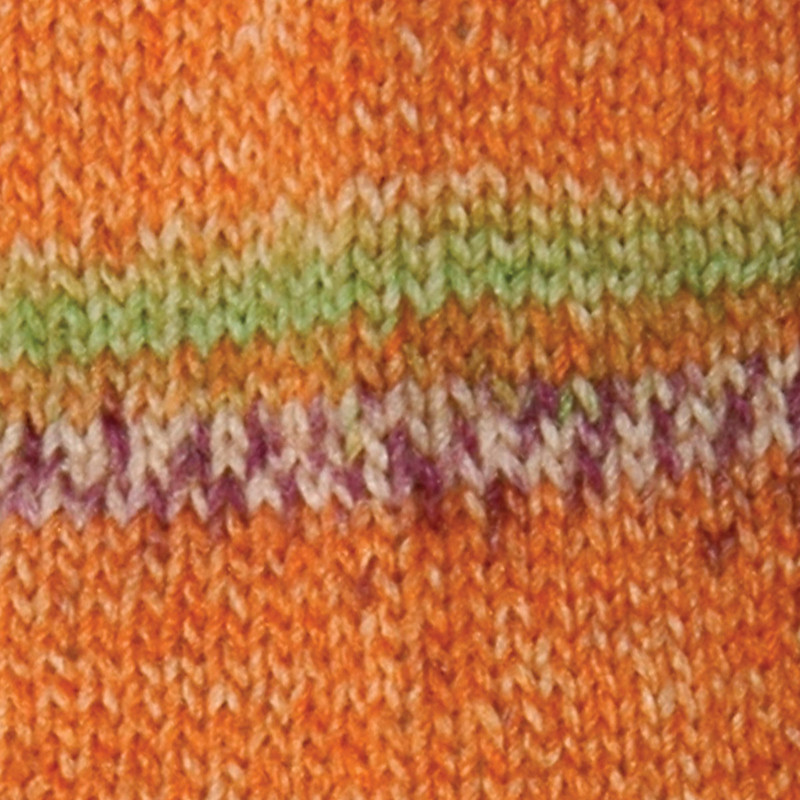 Sock Yarn Mars Orange (02)